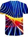 Men\'s Daily T-shirt - 3D Blue