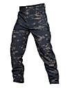Herr Jaktbyxor med kamouflagemönster Håller värmen Vattentät Slitsäker Vår Sommar Höst Kamouflage för Kamouflage Grå S M L XL XXL / Vinter