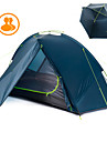 Naturehike 2 personer Vandringstält Utomhus Regnsäker Dubbelt lager Stång Kupol Tält för Camping Resa Nylon 210*235*105 cm