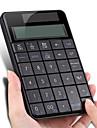 Wireless 2.4 G USB Numeric Keyboard with Screen Calculator Business