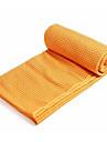 Yogafilt Yogahandduk anti slip Ultra Lätt (UL) superfin fiber Polyster för Yoga Vardagsanvändning Land 183*65 cm Mörkgrå Forest Grön Purpur