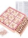 Brädspel Schackspel Sudoku Trä Barn Vuxna Unisex Pojkar Flickor Leksaker Present