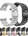 kovový pásek na hodinky z nerezové oceli pro hodinky Apple řady 5/4/3/2/1 výměnný náramek na zápěstí