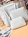 Dam Dragkedja Polyester bag set 4 st handväska Svart / Brun / Rodnande Rosa