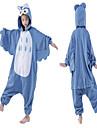 Barn Kigurumi-pyjamas Uggla Djurmönstrad Onesie-pyjamas Sammet Mink Blå Cosplay För Pojkar och flickor Pyjamas med djur Tecknad serie Festival / högtid Kostymer