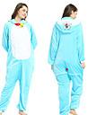 Vuxna Kigurumi-pyjamas Doraemon Onesie-pyjamas Flanelltyg Ljusblå Cosplay För Herr och Dam Pyjamas med djur Tecknad serie Festival / högtid Kostymer