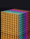 216-1000 pcs 5mm Magnetleksaker Byggklossar Superstarka neodymmagneter Neodymmagnet Puzzle Cube Magnet Barn / Vuxna Pojkar Flickor Leksaker Present
