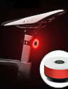LED Bike Light Rear Bike Tail Light Bicycle Cycling Portable Durable Lightweight Rechargeable Li-Ion Battery 10 lm Rechargeble Battery Red Cycling / Bike