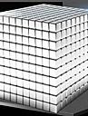 1000 pcs 5mm Magnetleksaker Magnetiska kulor Magnetleksaker Byggklossar Superstarka neodymmagneter Neodymmagnet Magnet Fyrkantsformad Stress och ångest Relief Office Desk Leksaker Lindrar ADD, ADHD