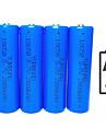 Li-jon 18650 batteri 2000 mAh 4pcs 3.7 V Uppladdningsbar Kompakt storlek Nödsituation för Utomhus Ficklampa Bike Light Camping Jakt Fiske Blå / Cykling / Cykel