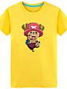 Inspirerad av One Piece Tony Tony Chopper Animé Cosplay-kostymer Japanska Cosplay T-shirt Tryck Kortärmad Topp Till Herr / Dam