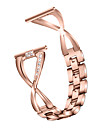 hodinky kapela pro fitbit versa / fitbit versite lite / fitbit versa2 fitbit šperky design z nerezové oceli na zápěstí