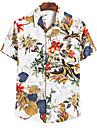 男性用 シャツ メンズファッション 半袖 日常  ハワイアン 日常トップス メンズトップス