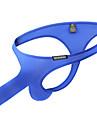 رجالي طبيعي أساسي ملابس داخلية خيطية قابل للبسط خصر منخفض 1 قطعة أزرق M