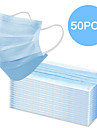 50pcs Face Mouth Mask Disposable Protect 3 Layers Filter Dustproof Earloop Non Woven Mouth Masks