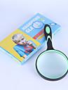 Portable 10x magnifier 100mm rubber handle magnifier eyepiece