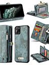 ケース 用途 Apple iPhone 11 / iPhone 11 Pro / iPhone 11 Pro Max ウォレット / カードホルダー / 耐衝撃 フルボディーケース ソリッド PUレザー