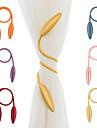 2ks libovolný tvar silný závěs tiebacks plyšová slitina závěsné pásy lana závěs zádrž závěs tyče tyče příslušenství