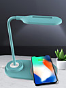 Luminaria de Escrivaninha Recarregavel / Ajustavel / Novo Design Moderna Carregamento USB Para Sala de Estar / Quarto de Estudo / Escritorio Acrilico <5V Azul / Branco