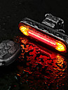 LED Bike Light Rear Bike Tail Light LED Bicycle Cycling Super Bright Remote Control / RC Li-polymer 180 lm Rechargeable Battery Dual Light Source Color Cycling / Bike