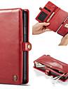 Caseme高級ビジネスフリップレザー電話ケースiphone 11/11プロ/ 11プロ最大/ xs最大/ xs / xr / x磁気財布カードスロットスタンド取り外し可能なiphone 8プラス/ 7プラス/ 6プラス/ 8/8/7/6
