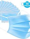 50 Pcs Anti-Dust Dustproof Disposable Earloop Face Mouth Masks Facial Protective Cover Masks