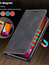 高級磁気財布フリップレザーケースアップルiphone 11プロマックスse 2020 xr xsマックスx 8プラス7プラス6プラスカードスタンドカバー
