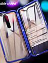 telefono Custodia Per OnePlus Integrale Oneplus 7 pro uno piu 7T uno piu 7T Pro Resistente agli urti A specchio A calamita Tinta unica Vetro temperato Metallo