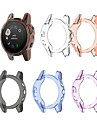 For Garmin Fenix 5S Replacement TPU Protective Case Cover Shell Transparent