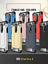 telefono Custodia Per OnePlus Per retro Silicone Custodia in silicone OnePlus 8 Pro Oneplus 7 pro Oneplus 6T Resistente agli urti Armatura Tinta unita Armatura TPU Silicone PC