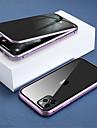 Capinha Para Apple iPhone 11 / iPhone 11 Pro / iPhone 11 Pro Max Translucido / Anti peep Capa Protecao Completa Solido Vidro Temperado / Metal