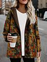 여성용 파카 보통 코트 보통 자켓 컬러 블럭 옐로우 네이비 블루