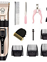 Cat Dog Grooming Hair Trimmers Hair Clipper Tool Kit Pet Hair Remover Cordless Plastics Clipper & Trimmer Portable Mini Rechargeable Pet Grooming Supplies Black One-piece Suit