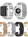 Watch kapela pro Hodinky Apple Series 5 / Apple Watch Series 5/4/3/2/1 / Apple Watch Series 4 Apple Design šperků / Obchodní skupina Nerez Poutko na zápěstí