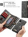 Caseme高級ビジネスレザー磁気フリップケースiphone SE2020 / 11プロマックス/ 11プロ/ 11 / XSマックス/ XR / XS / X / 8プラス/ 7プラス/ 6プラス/ 8/7/6ウォレットカードスロット取り外し可能なカバー