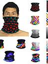 Pánské / Unisex 3D Tisk Čtvercový šátek / nekonečná šála / Hidžáb - Tisk / Barevné bloky Multifunkční