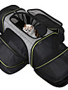 Dog Cat Pets Cages Travel Carrier Bag Airline Approved Pet Carrier Breathable Washable Travel Color Block Fashion Terylene Gray