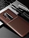 telefono Custodia Per OnePlus Per retro OnePlus 8 Pro Oneplus 7 pro Oneplus 6T Resistente agli urti Tinta unita TPU Fibra di carbonio