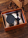 Men\'s Sport Watch Quartz Classic Chronograph Analog Gray / Titanium Alloy / Large Dial