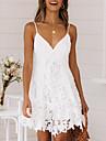 Women's Strap Dress Short Mini Dress White Sleeveless Clothing Summer V Neck Hot Sexy vacation dresses 2021 S M L XL XXL 3XL