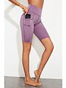 Women\'s Sports / Yoga Sporty / Basic Legging - Solid Colored, Sporty / Stripe High Waist Black Purple S M L