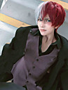 My Hero Academia / Boku No Hero Todoroki Shoto Cosplay-peruker Pojkar Flickor 14 tum Värmebeständigt Fiber Anime peruk