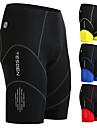TESDEN Homens Bermudas Acolchoadas Para Ciclismo Fibra Sintetica Coolmax® Elastano Moto Shorts Calcas Respiravel Tapete 3D Secagem Rapida Esportes Preto / Amarelo / Vermelho Ciclismo de Montanha