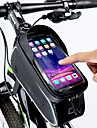 ROCKBROS Cell Phone Bag Bike Frame Bag Top Tube 6 inch Touch Screen Reflective Waterproof Cycling for All Phones iPhone X iPhone XR Black Road Bike Mountain Bike MTB / iPhone XS / iPhone XS Max