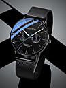 Men\'s Sport Watch Quartz Casual Altimeter Analog White Black Blushing Pink / Chronograph / Luminous / Noctilucent / Large Dial