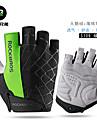 ROCKBROS Bike Gloves / Cycling Gloves Mountain Bike MTB Breathable Anti-Slip Sweat-wicking Protective Boys\' Girls\' Fingerless Gloves Half Finger Sports Gloves Lycra Green for Kid\'s Outdoor