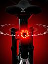 LED Cykellyktor Baklykta till cykel LED Cykel Cykelsport Vattentät Jätteljus Quick Release Uppladdningsbart litiumjonbatteri 120 lm Uppladdningsbart Batteri Röd Cykling / Aluminiumlegering