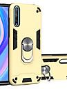 Capinha para huawei y5p y6p y8p p smart2020 p smart z y7 y7prime y7pro y6 y6prime y6pro y9prime honor play4t 9s 8a suporte do anel a prova de choque capa traseira cor solida tpu pc metal