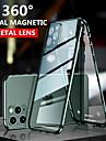 Caso de dupla face de vidro temperado de adsorcao magnetica para iphone se 2020 11 11 pro 11 pro max coque 360 capa protetora de telefone para x xs xr xs max 8 8 plus 7 7 plus