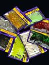 20 pcs Mjukt bete Lock förpackningar Mjukt bete Lock förpackningar maskar Bass Forell Gädda Sjöfiske Färskvatten Fiske Abborr-fiske Mjuk plast / Drag-fiske